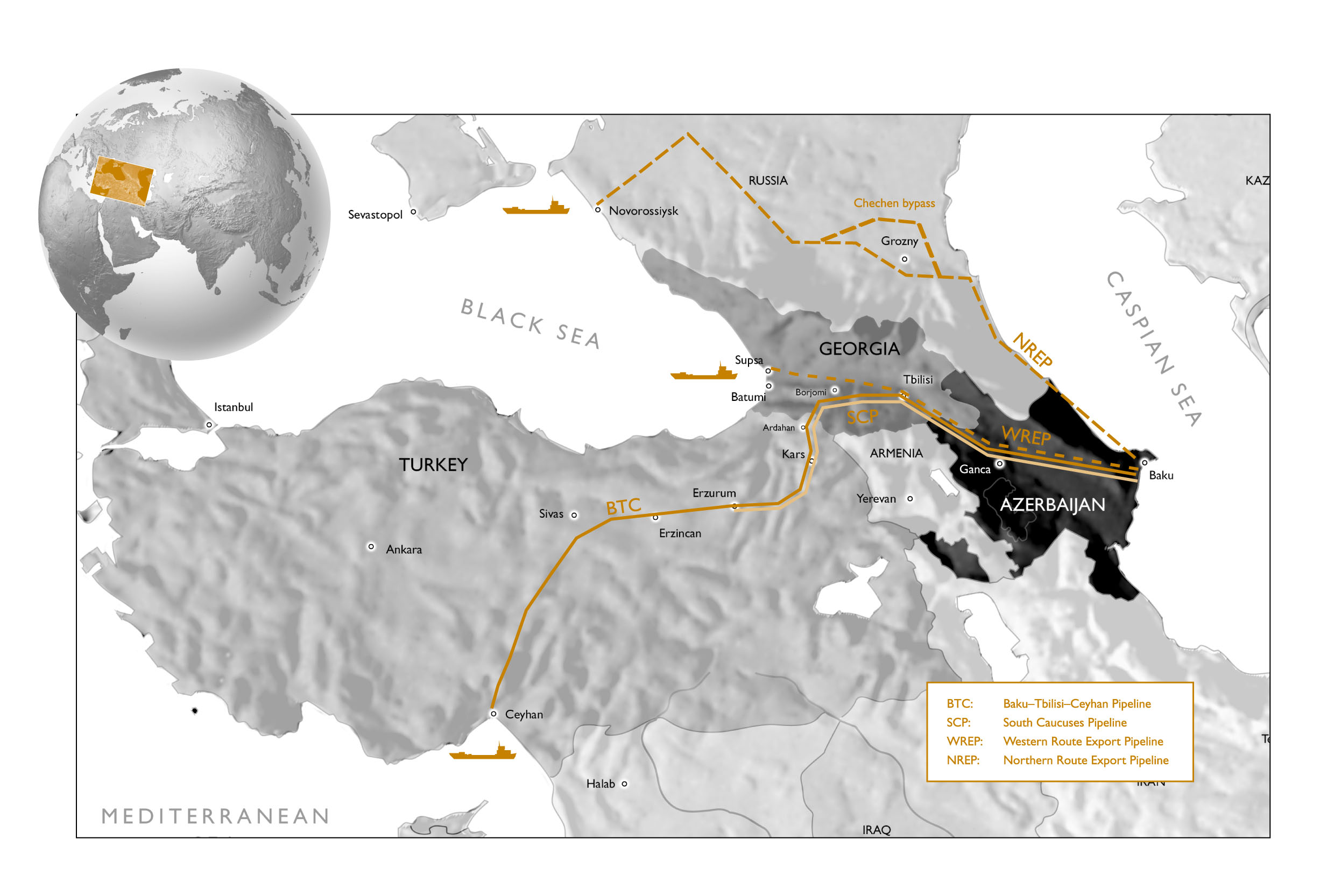 Campanastan The Wests Interests in the South Caucasus are AGO