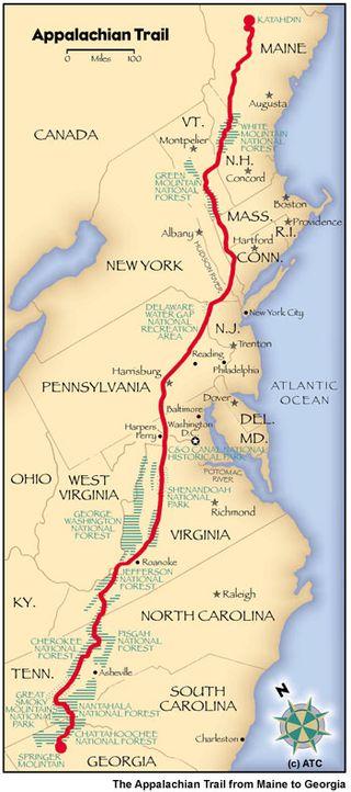 Appalachian-trail-map