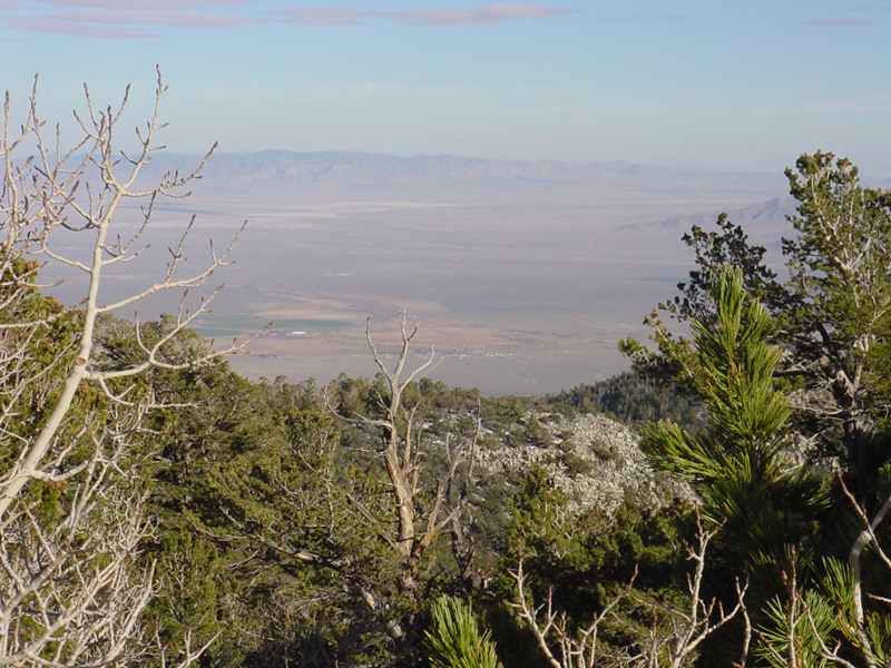 East across Snake Valley