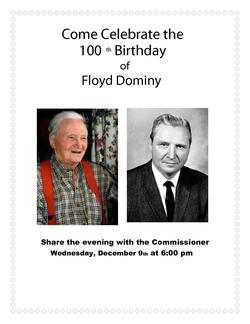Dean of Dams' Floyd Dominy Dies at 100 – AWRA Water Blog
