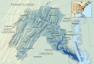 300px-Potomacwatershedmap