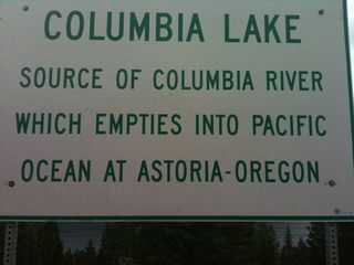 Columbia River source