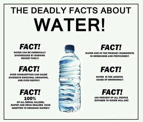Water dangerous