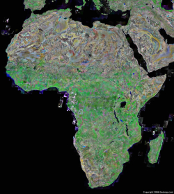 Satellite-image-of-africa