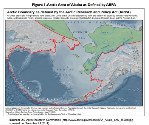 CRS Report: 'Changes in the Arctic - Background and Issues for