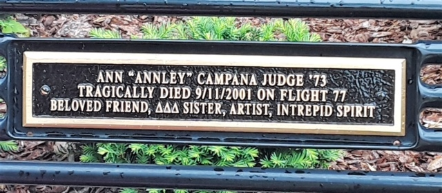 Ann's plaque