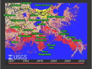 Diverting The Mississippi Louisianas Plan WaterWired - Coastal wetlands map us